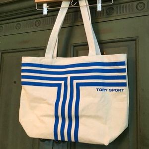 NWOT Tory Sport Canvas Tote